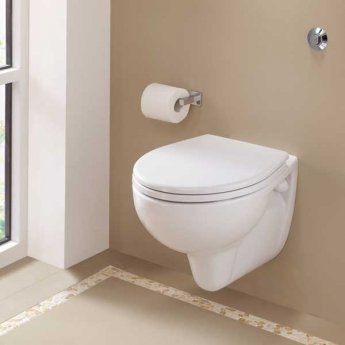 Twyford Alcona Wall Hung Toilet WC - Soft Close Seat