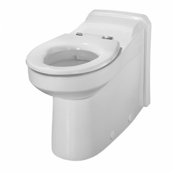 Twyford Avalon Rimless Back-To-Wall Toilet Pan 360mm W - Excluding Seat