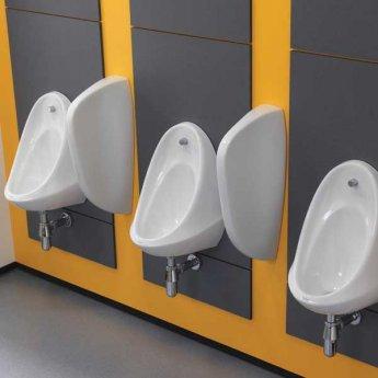 Twyford Camden Urinal 350mm Wide - White