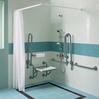 Twyford Doc M Disability Shower Pack - Grey