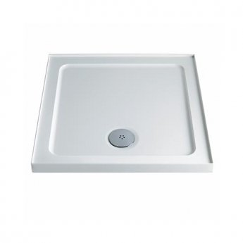 Twyford Square Shower Tray 760mm X 760mm - 4 Upstand