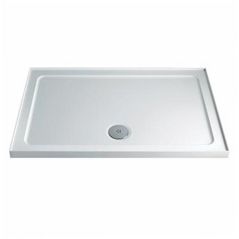 Twyford Rectangular Shower Tray 900mm X 760mm - 4 Upstand