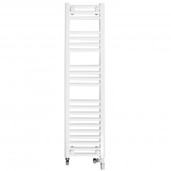Ultraheat Chelmsford Straight Heated Towel Rail 1200mm H x 420mm W - White