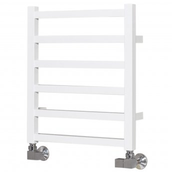 Ultraheat Karnak Straight Heated Towel Rail 480mm H x 420mm W - Chrome