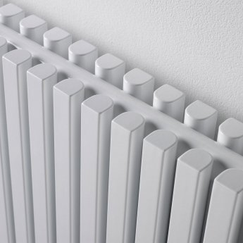 Ultraheat Klon Single Designer Vertical Radiator, 1800mm H x 611mm W, White
