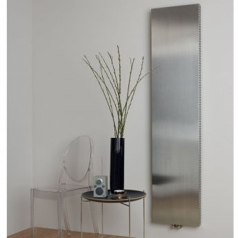 Ultraheat Sovran Single Flat Panel Vertical Radiator 2005mm H x 605mm W - Brushed Matt
