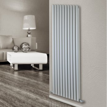 Ultraheat Visage Designer Horizontal Radiator 600mm H x 345mm W - White
