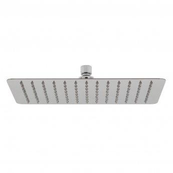 Vado Aquablade Rectangular Slimline Fixed Shower Head 200mm x 300mm - Chrome
