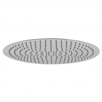 Vado Aquablade Round Slimline Fixed Shower Head 400mm Diameter - Chrome