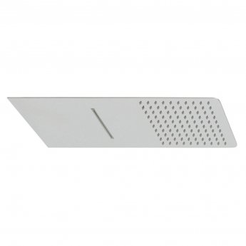 Vado Aquablade Slimline Two Function Fixed Shower Head Square - Chrome