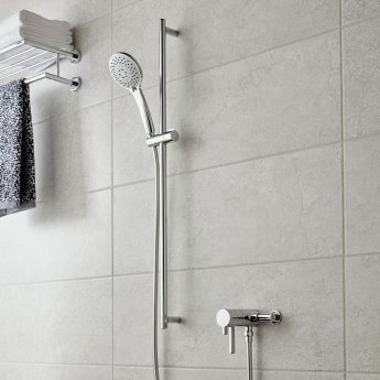 Vado Celsius Thermostatic Exposed Mixer Shower with Shower Kit
