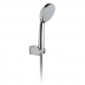 Vado Eris Single Function Shower Handset with Shower Hose and Bracket - Chrome