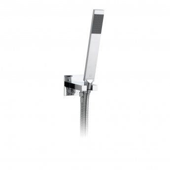 Vado Instinct Single Function Shower Handset with Shower Hose and Bracket - Chrome