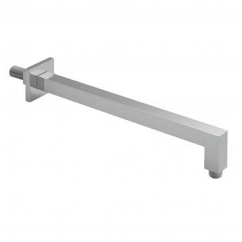 Vado Mix2 Square Wall Mounted Shower Arm 390mm Length - Chrome