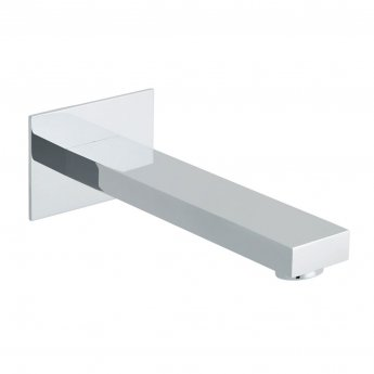 Vado Notion Bath Spout Wall Mounted - Chrome