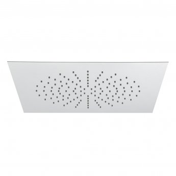 Vado Sky Square Fixed Shower Head 350mm x 350mm Ceiling Mounted - Chrome