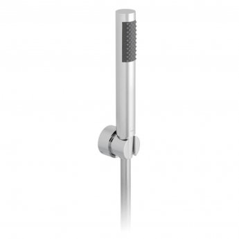 Vado Zoo Single Function Shower Handset with Shower Hose and Bracket - Chrome