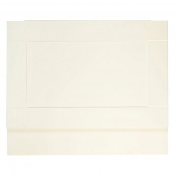 Verona Aquapure End Bath Panel 700mm W X 450mm H (Adjustable Plinth 150mm) - Crema