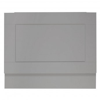 Verona Aquapure End Bath Panel 750mm W X 450mm H (Adjustable Plinth 150mm) - Dust Grey