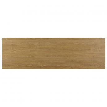 Verona Aquapure Front Bath Panel 450mm H x 1700mm W (Adjustable Plinth 150mm) - Natural Oak