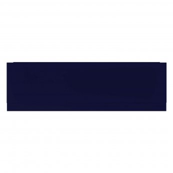 Verona Aquapure 1800mm Wide Wooden Front Bath Panel - Matt Indigo