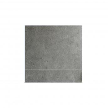 Verona Aquawall Waterproof Shower Wall Panels Packs of 8 Tiles - Polished Concrete