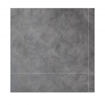 Verona Aquawall Waterproof Shower Wall Panels Packs of 8 Tiles - Mystic Grey