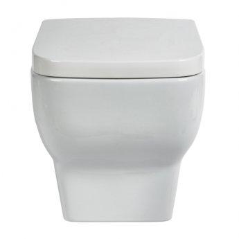 Verona Bella Wall Hung Toilet Pan - Soft Close Seat