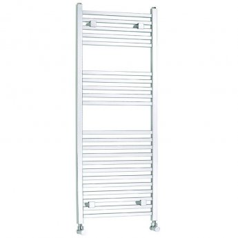 Verona Chic Designer Heated Towel Rail 1150mm H x 450mm W - Chrome