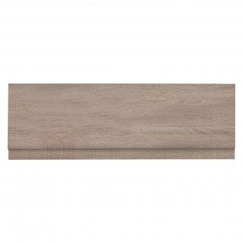 Verona MDF Front Bath Panel with Adjustable Plinth 1700mm W x 480mm H - Bordeaux Oak
