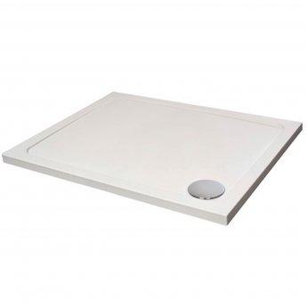 Verona Designer Rectangular Shower Tray 800mm x 700mm - Flat Top