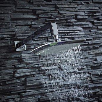 Verona Dream Square Shower Head 220mm Wide - Chrome