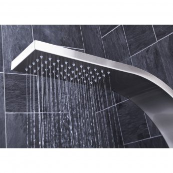 Verona Emme Thermostatic Shower Panel 3 Round Body Jets with Shower Hand