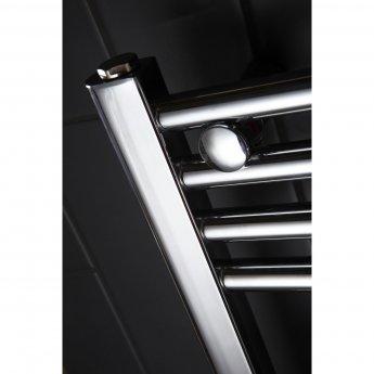 Verona Flat Designer Heated Towel Rail 1100mm H x 600mm W Chrome