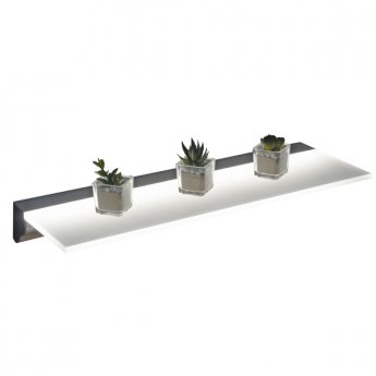 Verona Illuminated LED Floating Shelf 600mm Wide