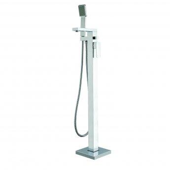 Verona Ixos Freestanding Bath Shower Mixer Tap with Shower Handset - Chrome