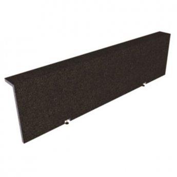 Verona Lipped Tileable Front Bath Panel 580mm H x 2050mm W - Acrylic