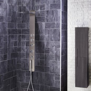 Verona Modique Shower Panel 3 Round Body Jets with Shower Hand