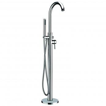 Verona Pano Freestanding Bath Shower Mixer Tap with Shower Handset
