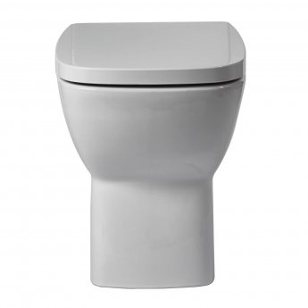 Verona Piccolo Back to Wall Toilet Pan - Soft Close Seat