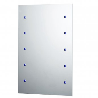Verona Reflection Bathroom Mirror 450mm H x 300mm W LED Illuminated