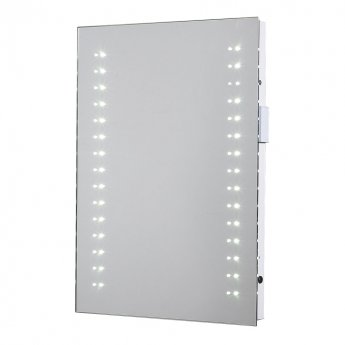 Verona Reflection LED6 Bathroom Mirror 700mm H x 500mm W LED Illuminated