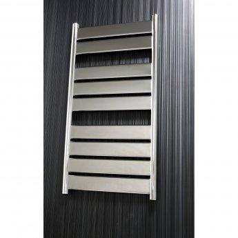 Verona Riva Designer Heated Towel Rail 1300mm H x 500mm W - Chrome