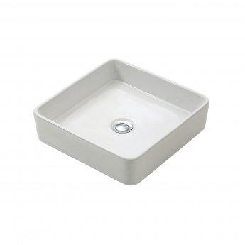 Verona Roma Square Countertop Basin - White