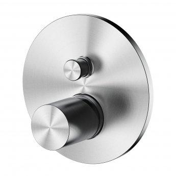 Verona Sash Concealed 2-Way Shower Valve Single Handle with Diverter Pack 1 - Polished Chrome