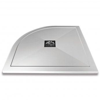 Verona Slimline Quadrant Shower Tray with Waste 900mm x 900mm - Flat Top