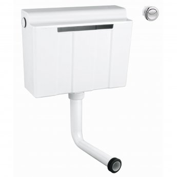 Verona Concealed Cistern with Dual Flush - Push Button