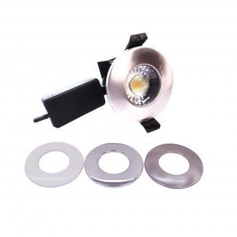 Verona Switchable and Dimmable LED COB Downlight - Various Finish