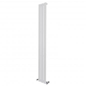 Verona Vibe Designer Single-Panelled Vertical Radiator 1800mm H x 224mm W - White