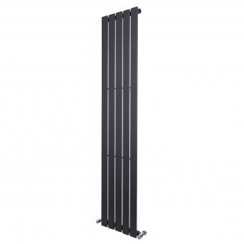 Verona Vibe Designer Single-Panelled Vertical Radiator 1600mm H x 376mm W - Anthracite